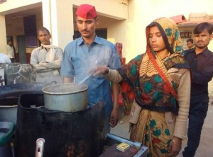 Tea selling woman becomes village head