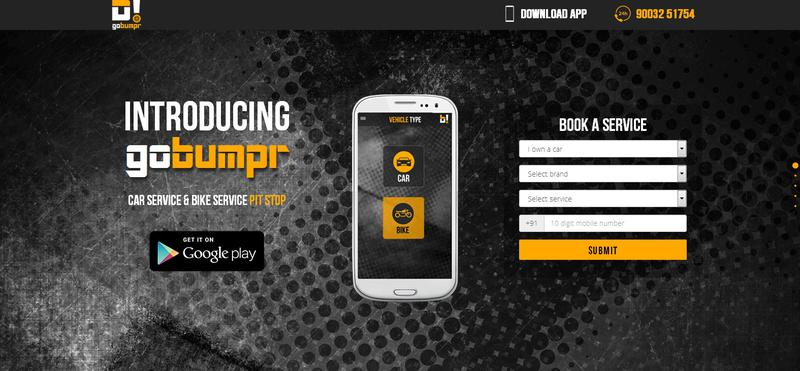GoBumpr facilitates easy vehicle repairs
