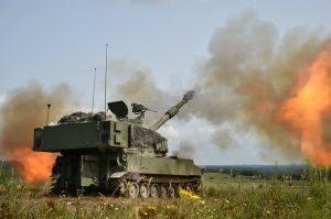 Indian artillery power display
