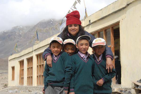 Bringing education to disadvantaged children