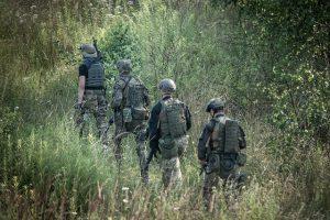 NIA team tracking terrorists' footprints