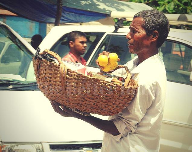 Orange seller builds a school