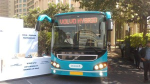 First Hybrid bus of India