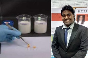 Detecting adulterated milk made easy with this paper strip