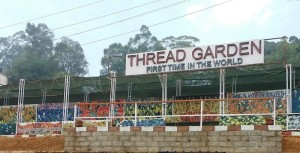 The man behind the Thread Garden