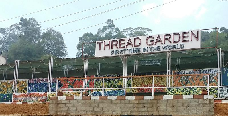 The man behind the Thread Garden