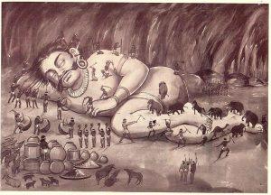 Why Kumbhakarna slept for six months