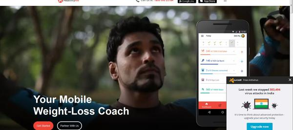 HealthifyMe - Mobile Weight loss Coach