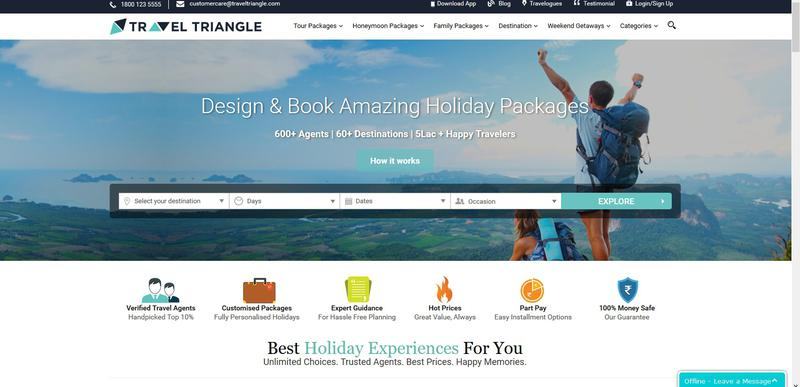 Travel Triangle – platform for travel lovers