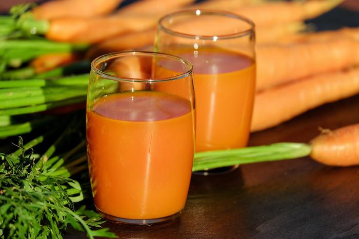 Spinach and Carrot Juice has great health benefits