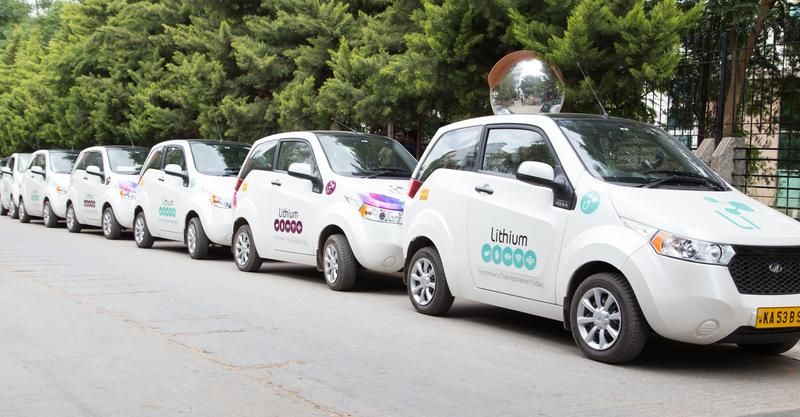 India's first electric cab service