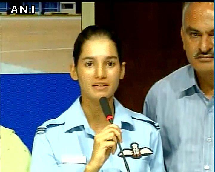 First Three Women to be Pilots in IAF Fighter Squadron