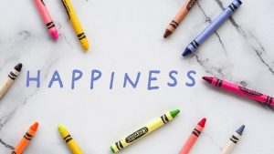 Being happy without a purpose