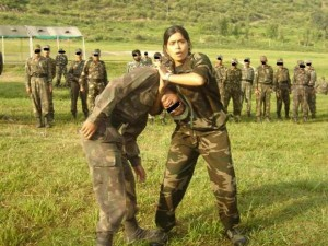 India's female commando trainer