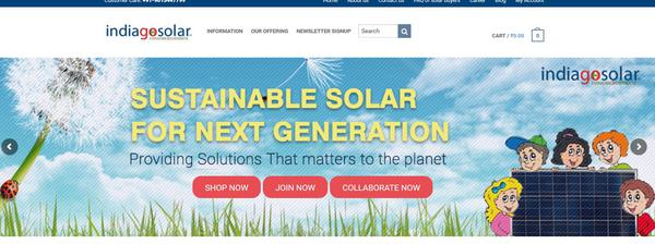 IndiaGoSolar – helping India go solar