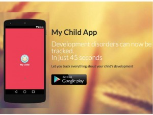 My Child App helps parents diagnose children's development disorders