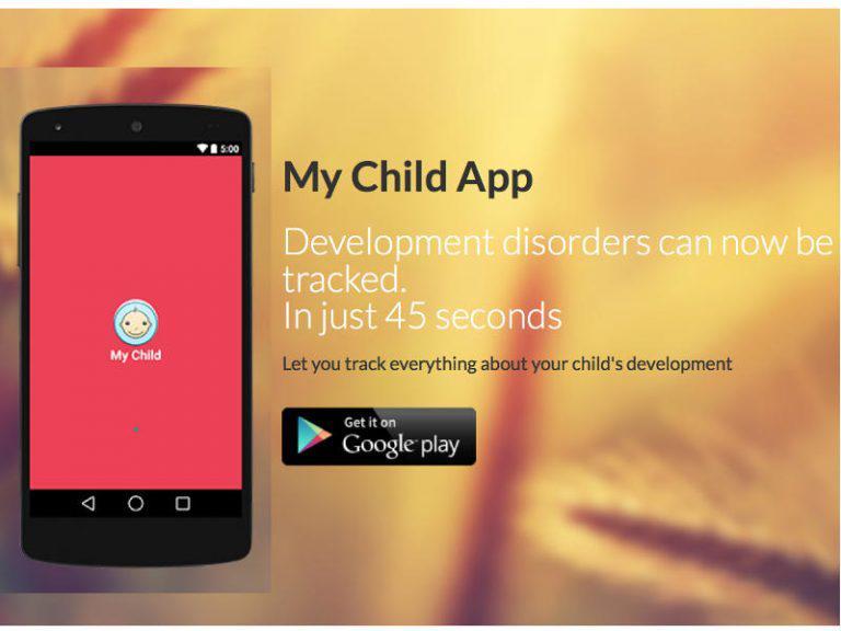 My Child App helps parents diagnose children's development disorders