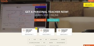 Vedantu provides online tutoring