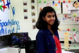13 year old Indian girl to speak at TED-ED