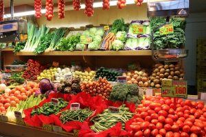 Buying vegetables using Aadhaar card
