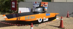 Students start-up: solar powered cars
