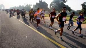 72 year old Marathon runner
