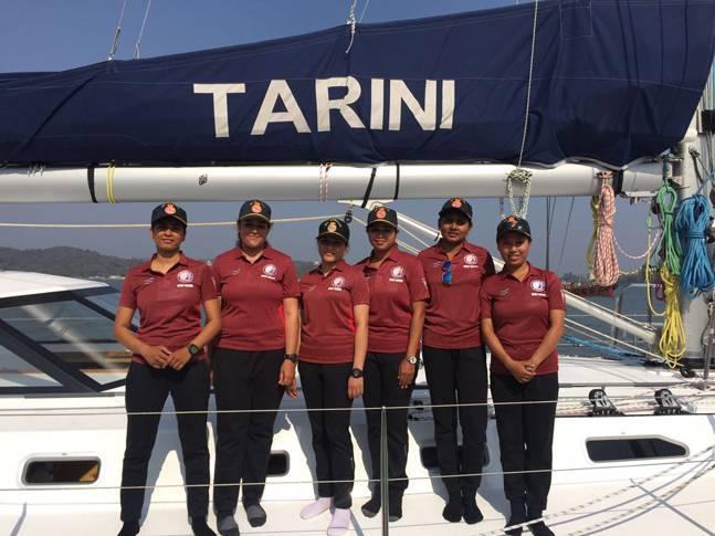 Indian Navy's first all women global expedition