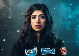 Third Indian-origin woman to go to space