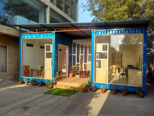 Schools in shipping containers