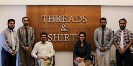 Threads & Shirts – Customized wear for men