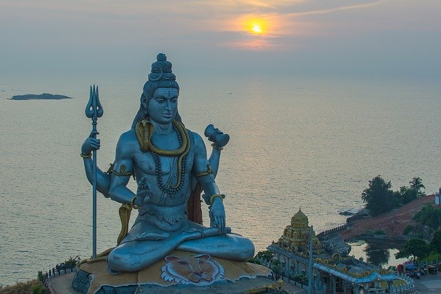 112 feet shiva statue unveiled by Modi