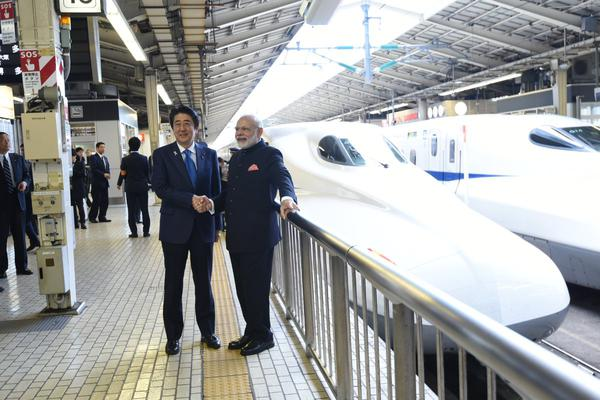 India's first bullet train – underwater train
