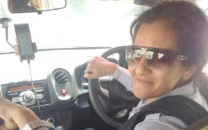 Delhi's first woman uber driver