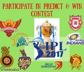 Participate In Predict N Win Contest - IPL 2017