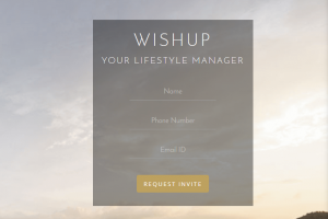 Wishup plays the role of personal assistant and concierge
