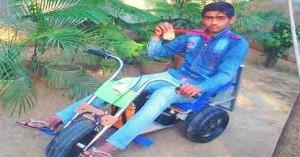13 year old develops solar powered bike