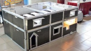 The house that can be folded