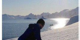 Hyderabad Man's journey to South Pole