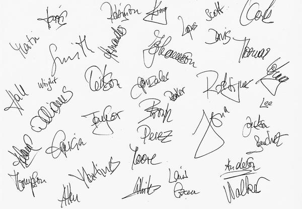 What a signature can tell you about a person
