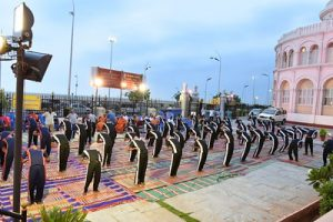 Mega event to be held on International Yoga Day