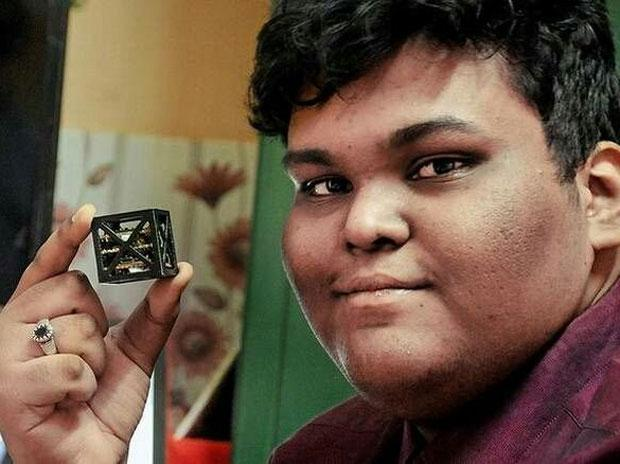 World's lightest satellite made by Indian teen
