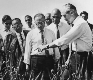 US scientist that helped farming in India