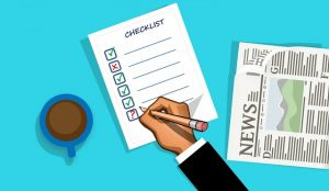 Checklist before accepting a job
