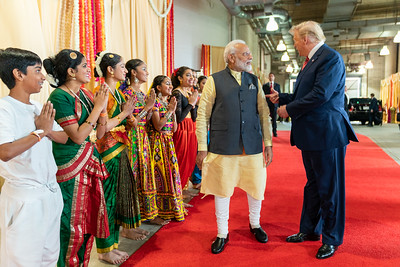 What did Modi and Trump talk?