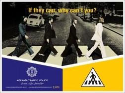 Meet the creative traffic police