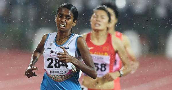 Village girl gets gold medal