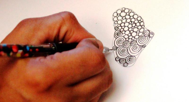 Zentangle - art to heal people