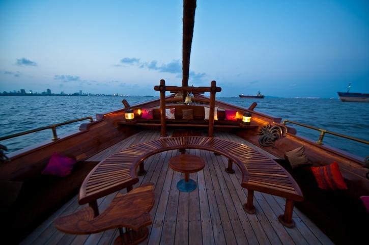 Mumbai's first floating restaurant