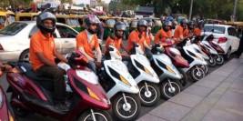 Pillion Rides – E-bikes taxi service