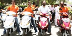 Pillion Rides - E-bikes taxi service